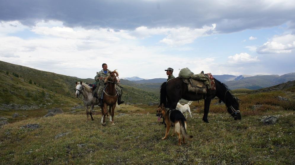 На перевале в Башкаус