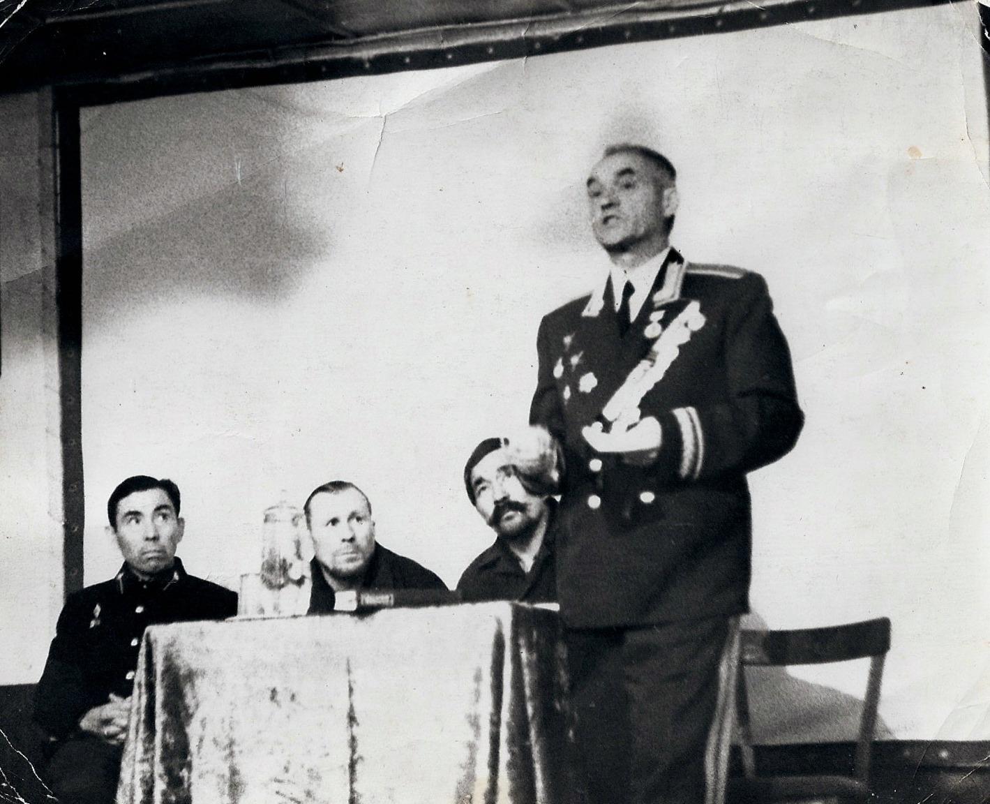 Генерал Холод, Туймешев,Анферов, Пыжанкин, ф-18
