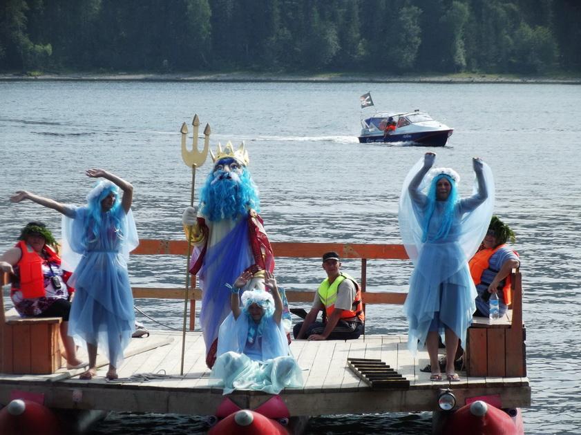 Телецкий праздник Нептун с русалками