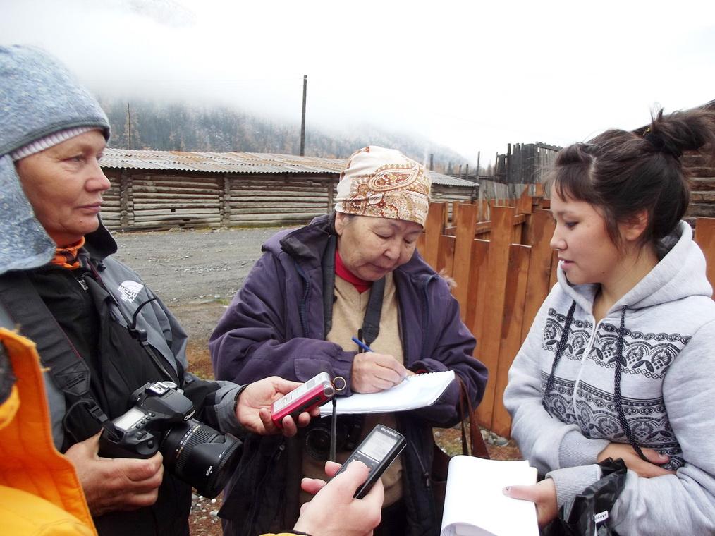Интервью с одной из победительницей конкурса микро-займов для развития экотуризма - Айару Асканаковой  село Саратан Улаганского района