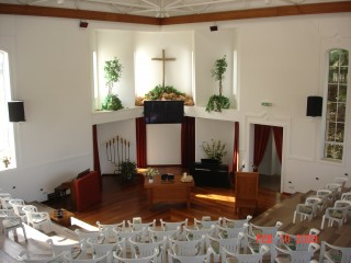 Church where we sang my beloved