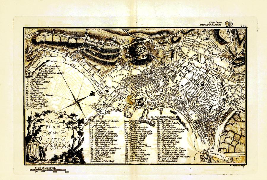 Неаполь карта