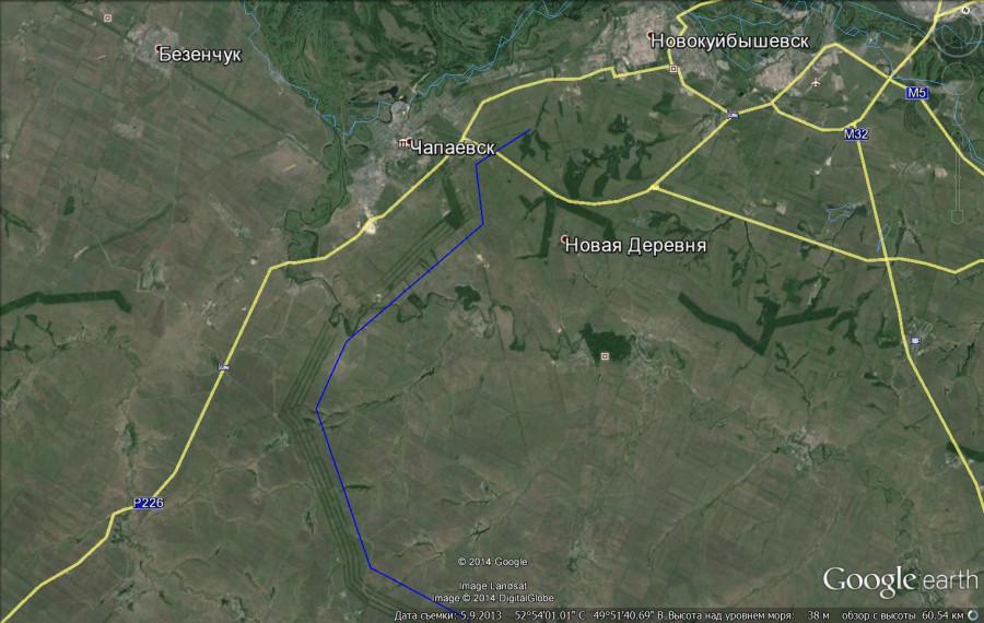 чапаевск 470 км