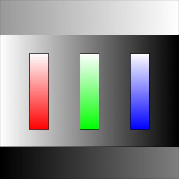 Визуальная шкала RGB