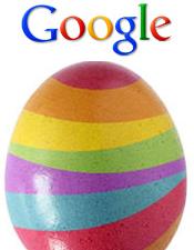 Пасхальные яйца от Google