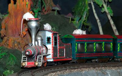Мышиная железная дорога