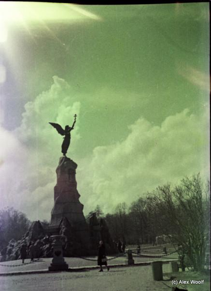 Памятник броненосцу «Русалка» в парке Кадриорг (Таллин) 1981г