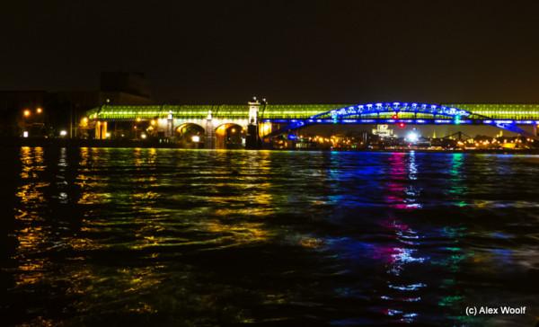 Андреевский мост. Москва.