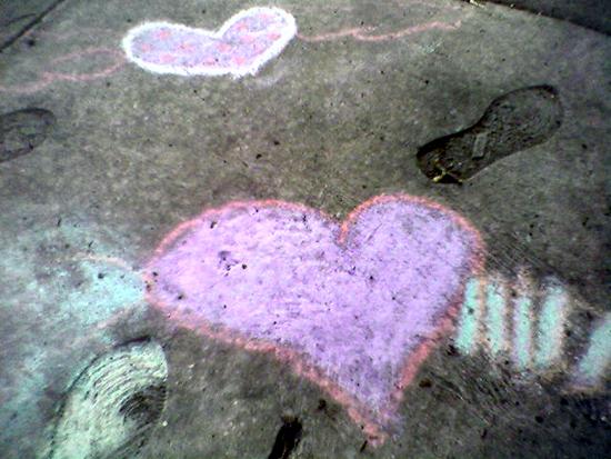 chalk-hearts