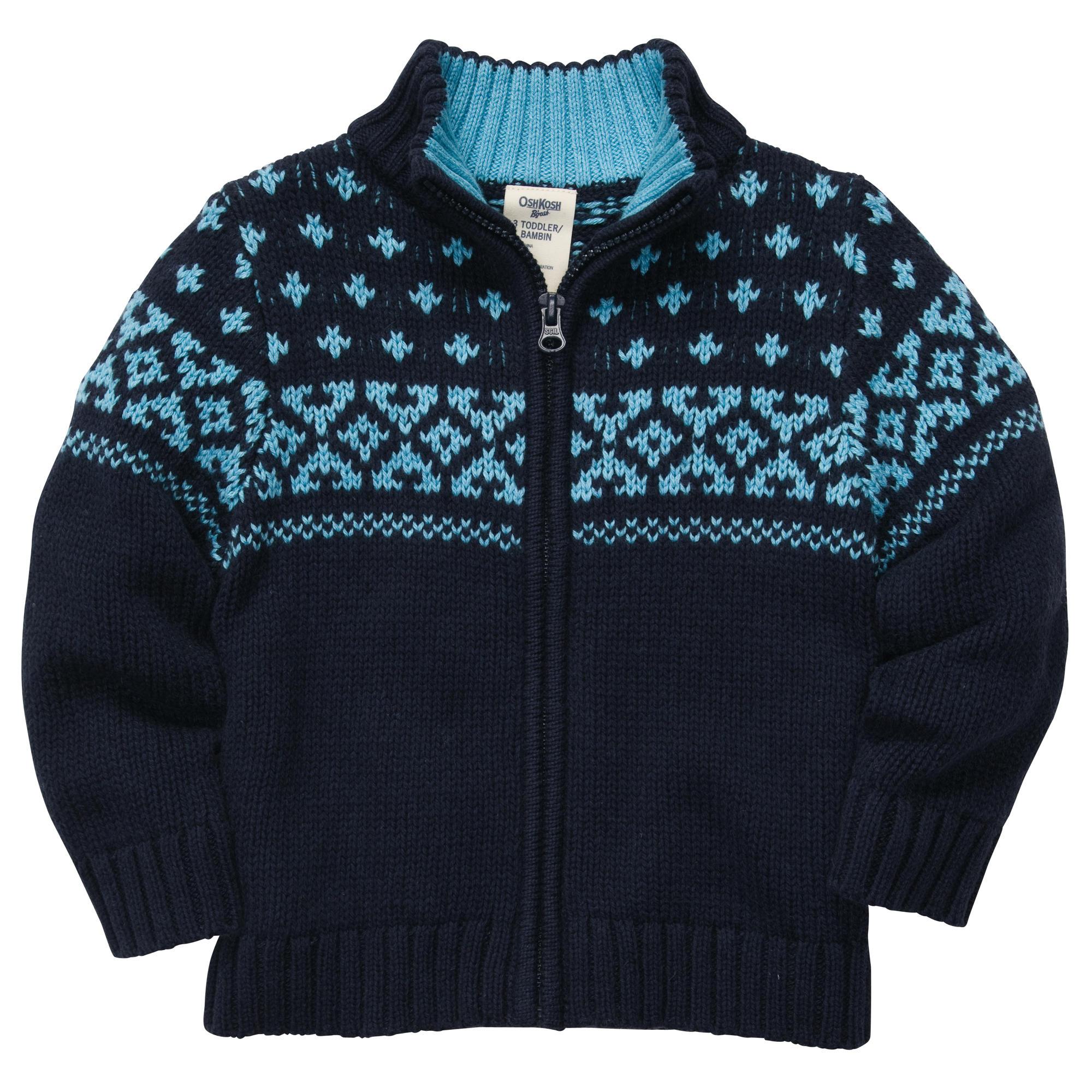 ош кош свитер