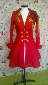 1a- red jacket