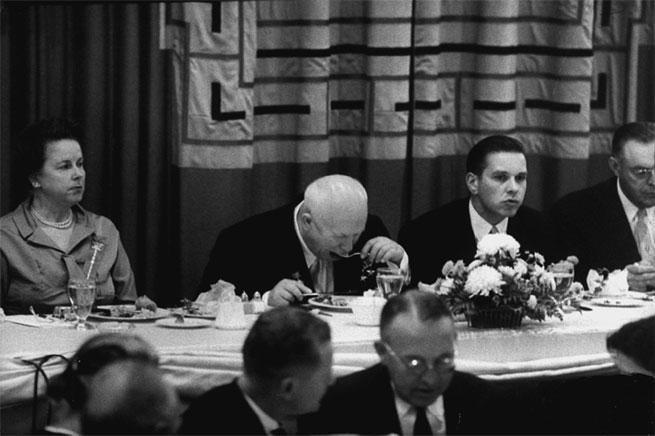 хрущев междун. приём. 1961