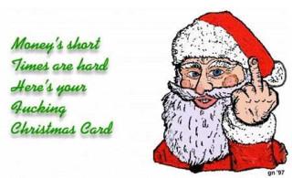 This excellent merry fucking xmas nonsense!