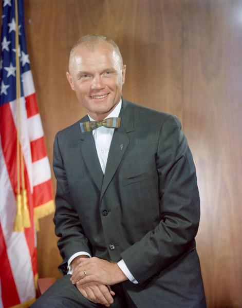 Астронавт Джон Гленн. Фото НАСА.