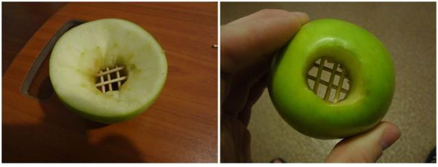 Как сделать из яблока для кальяна 725