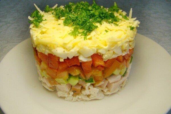 Русская красавица салат