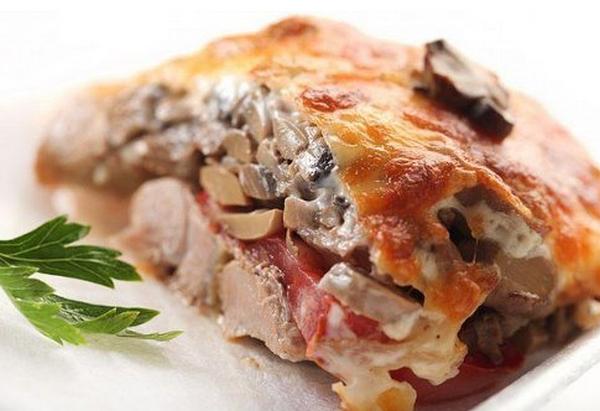 Мясо по-купечески в духовке