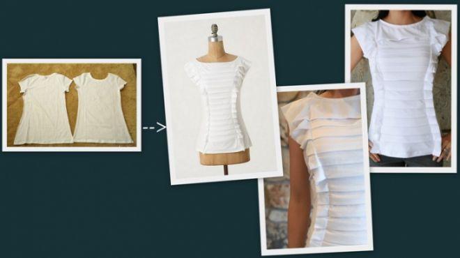 2 футболки+ креатив = 1 экслюзивная кофточка: ameli_greys