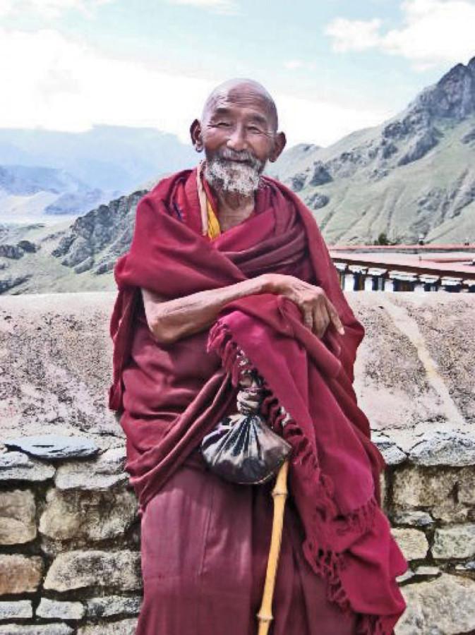 Картинки старого монаха сто лет назад