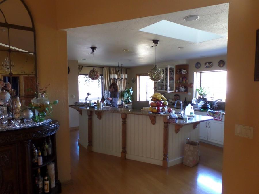11 Вид на кухню