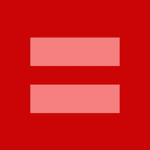 red equal sign - equality symbol for support of gay marriage