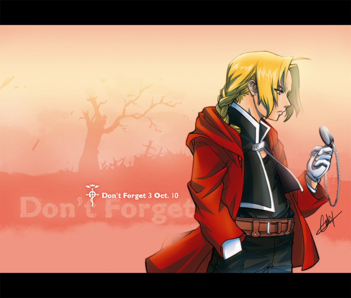 FMA fanart - Ed 9067 - Don't Forget - from pixidols