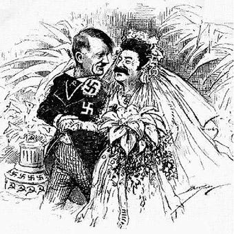 Карикатура Клиффорда Бэрримана, 1939 год
