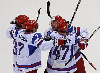 Хоккей Россия ЧМ 2011