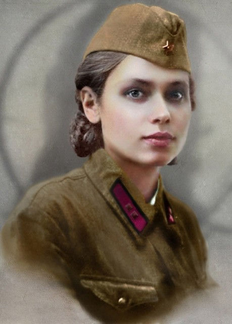 unknown_girl___lieutenant_of_the_red_army_by_klimbims-d8mjqxd