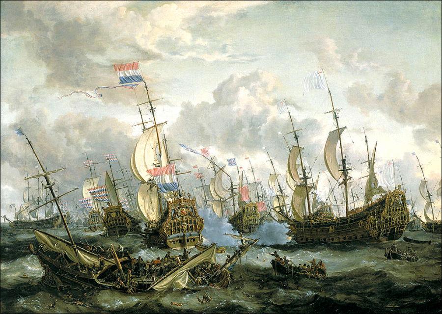 англичане и голландцы
