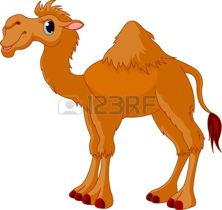 8008625-Иллюстрация-милый-смешной-верблюд