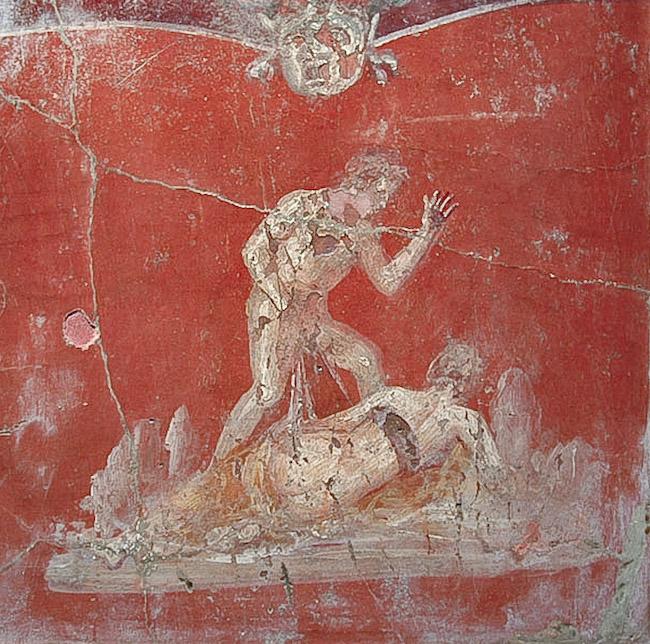 Помпеи сексуальные фрески