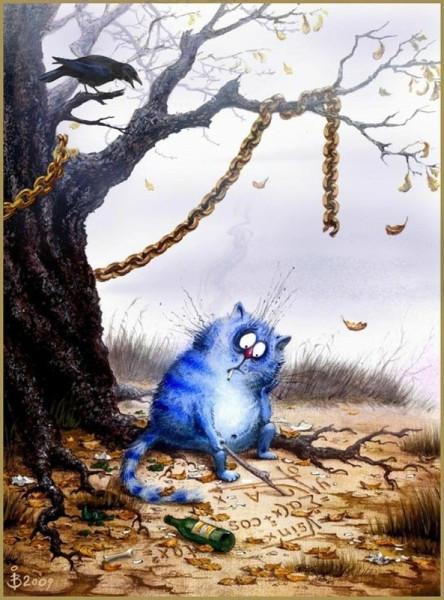 синий кот1