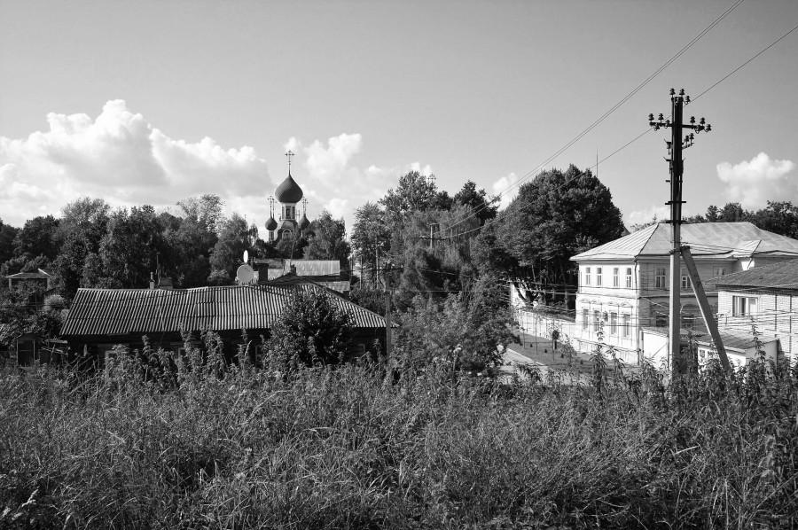 Переславль-Залесский: прогулка по Земляному валу.