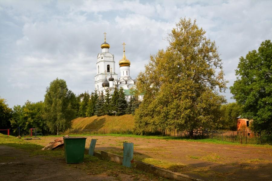Вяземский Кремль. Вязьма,Смоленская область,Россия,путешествия