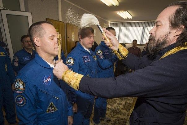 Благословение космонавтов