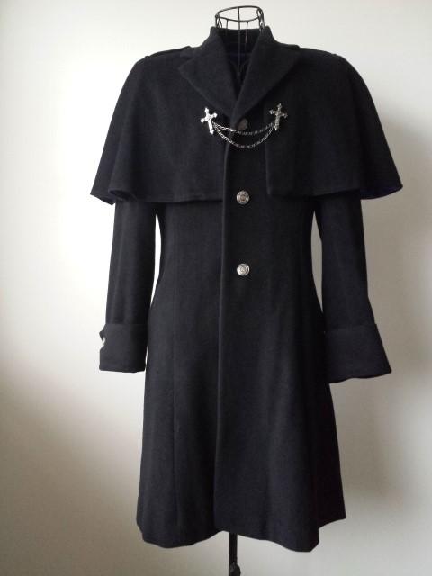 EGA-69353 Chain Cross Half-Coat