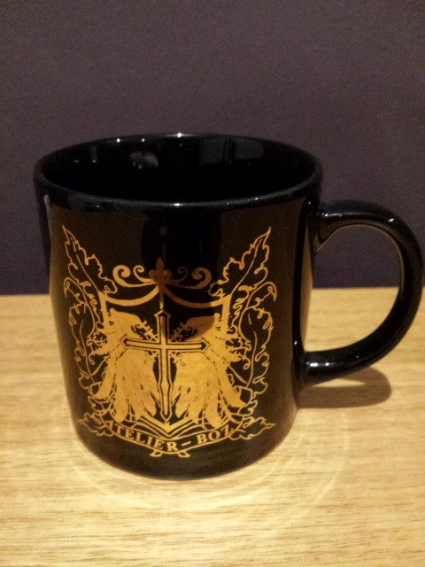 Atelier Boz black mug