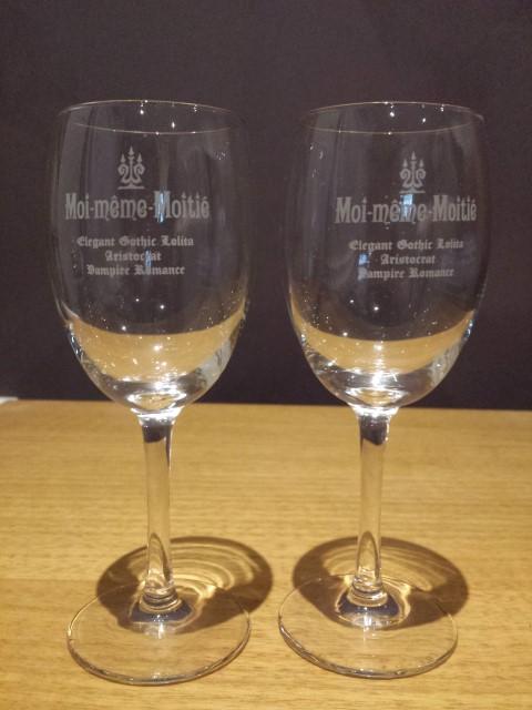 Moi-meme-Moitie wine glasses