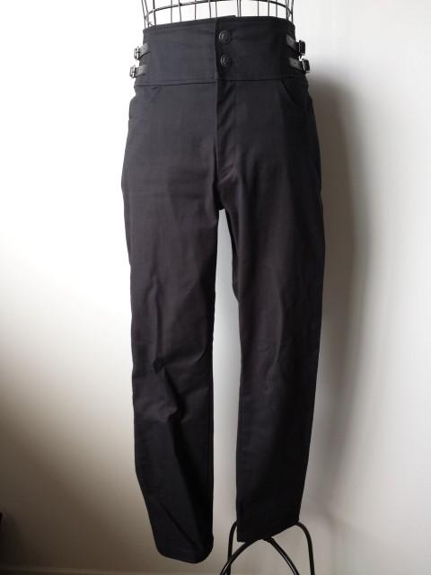 EGA-14461 Slim High-waisted Pants