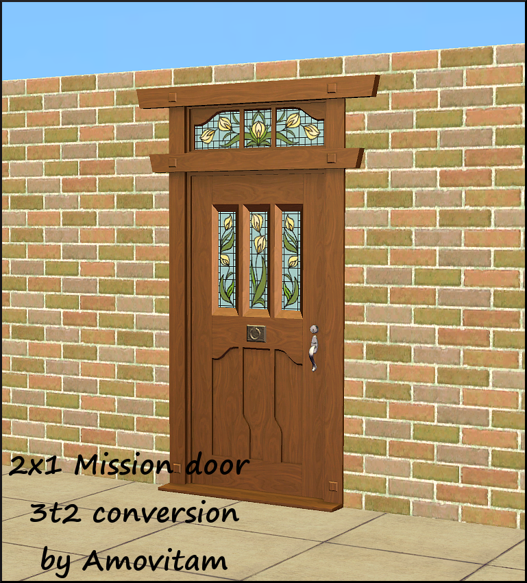 Mission Door 2x1 s3tos2 conversion - Amovitamu0027s Dream Town ?  sc 1 st  Amovitam - LiveJournal & Mission Door 2x1 s3tos2 conversion - Amovitamu0027s Dream Town