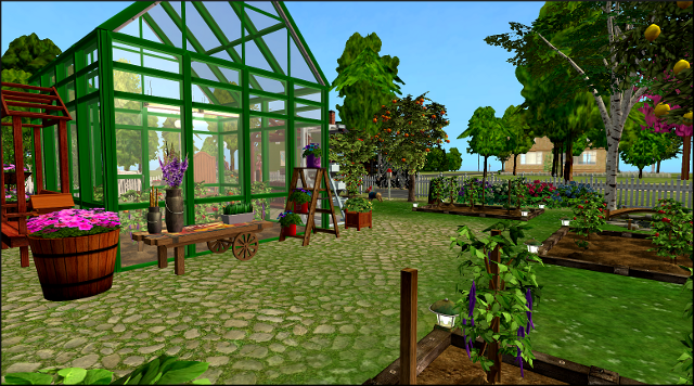 Community Garden Ideas imagine if they were all filled with community gardens You Need To Have A Sim With At Least Silver Badge In Gardening Make Herhim Buy A Community Lot The One You Want For Your Community Garden