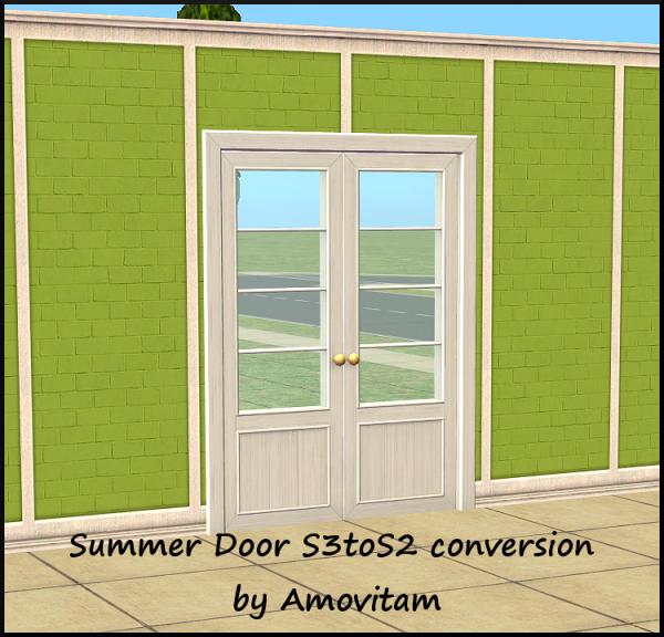 Sliding Doors The Sims 4: 12 Days Of Simsmas. Day 1.