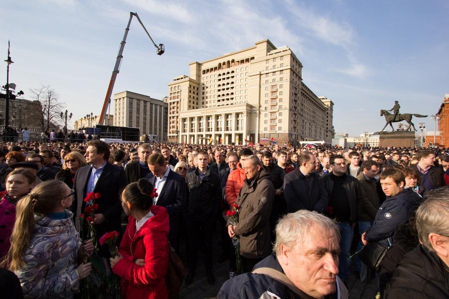 04 #ПитерМыСТобой митинг Манежная площадь