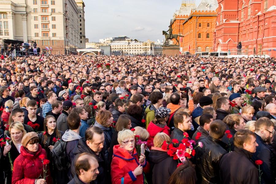 09 #ПитерМыСТобой митинг Манежная площадь