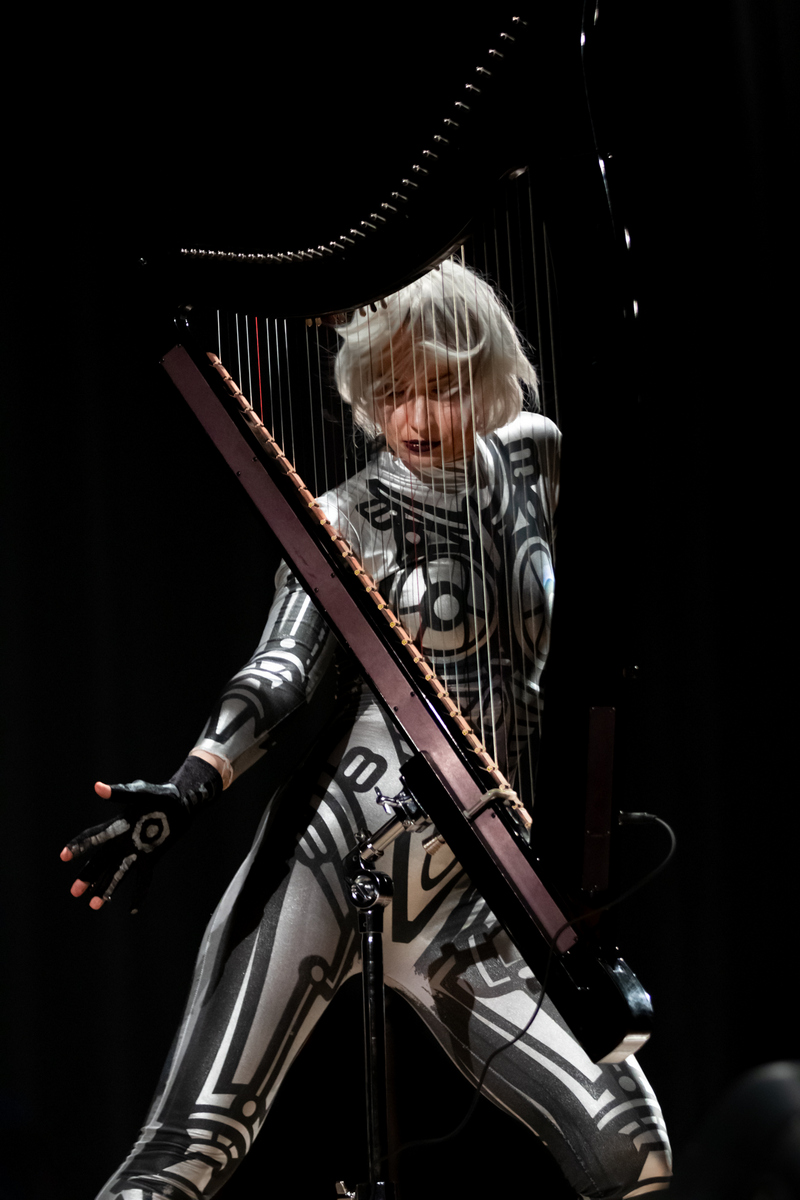 Надя Айна в образе робота на фестивале АрфаVita-2019. Фотограф: Петр Данилов.