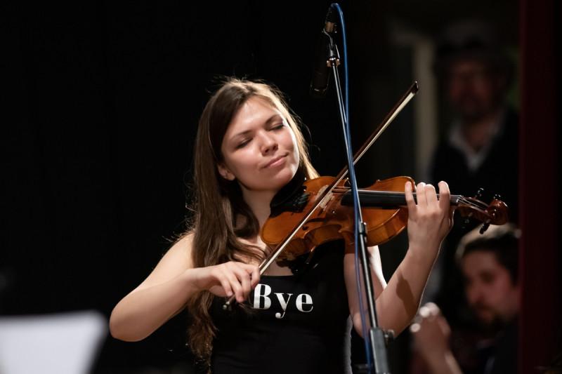 Лиза Виноградова из ArsNova Quartet на фестивале АрфаVita-2019. Фотограф: Петр Данилов