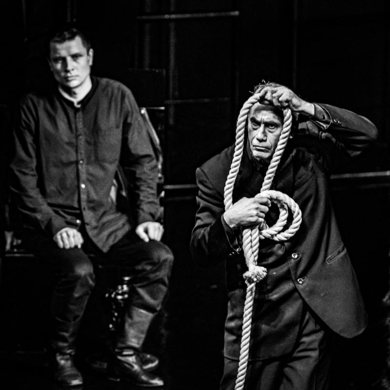 Спектакль «Экзерсисы» в театре «На досках». Фотограф: Петр Данилов
