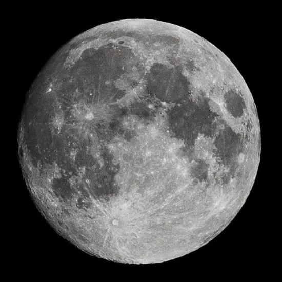 Луна 5 июня 2020 года. Фотограф: Петр Данилов