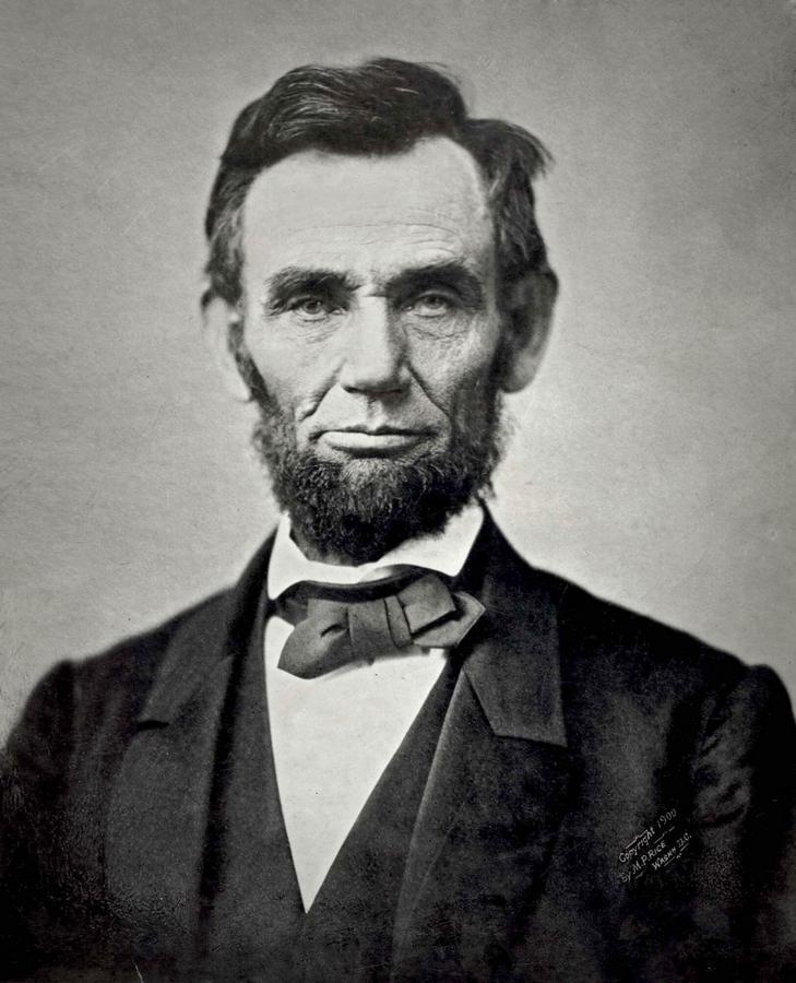 Абрахам Линкольн. 1863. Фотограф — Александр Гарднер.jpg